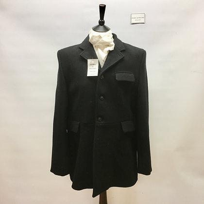 """44"""" 3 Button black coat"""