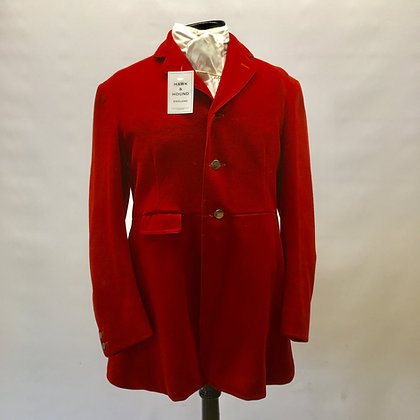 """3 Button Red hunt coat 38"""""""
