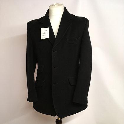 """Matlock & Brown Black Coat  40"""""""