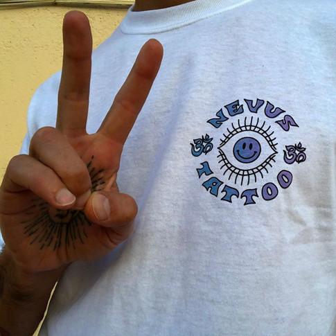 camiseta degradado