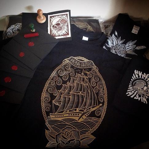 Set de merchandising tattoo