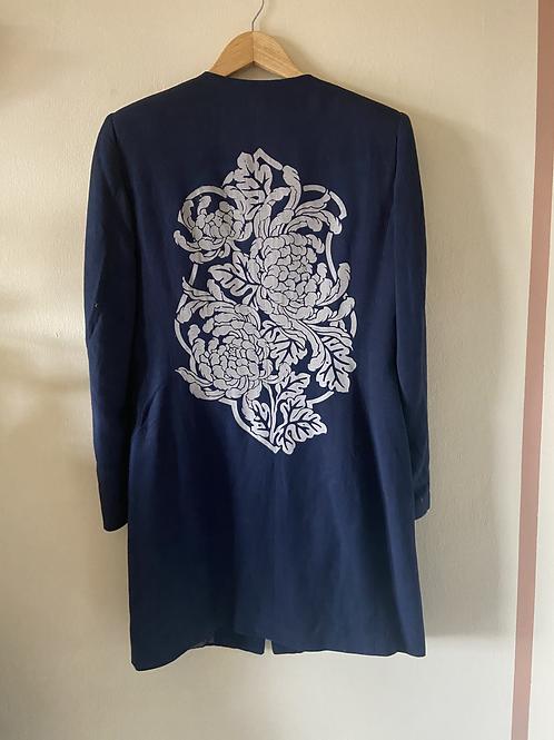 Abrigo Vintage ligero Crisantemo