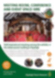 Venue Hire brochure