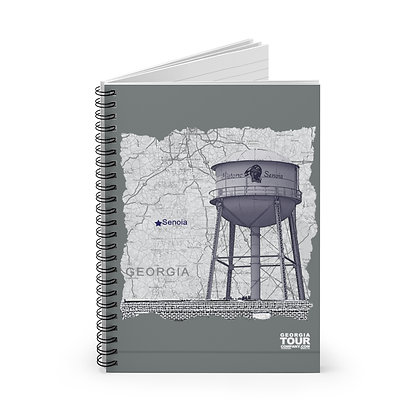 Senoia Water Tower Spiral Notebook - Ruled Line