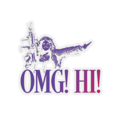 OMG! Hi! Sticker