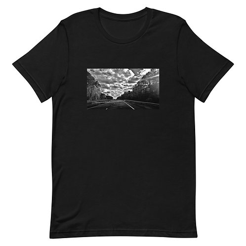 The Road Goes on Forever Unisex Premium T-Shirt