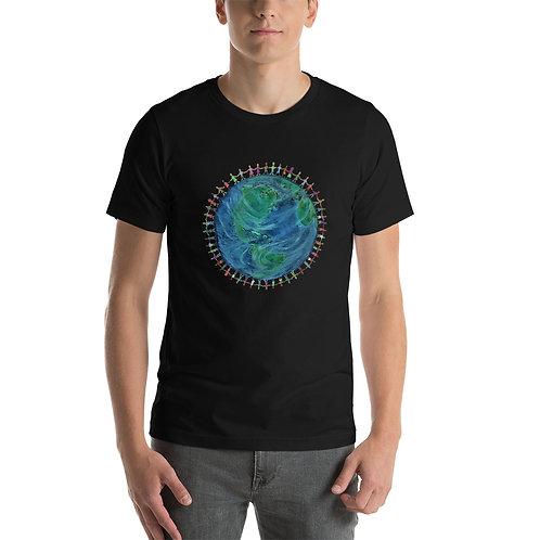 "Nancy Moore's ""All One"" Short-Sleeve Unisex T-Shirt"
