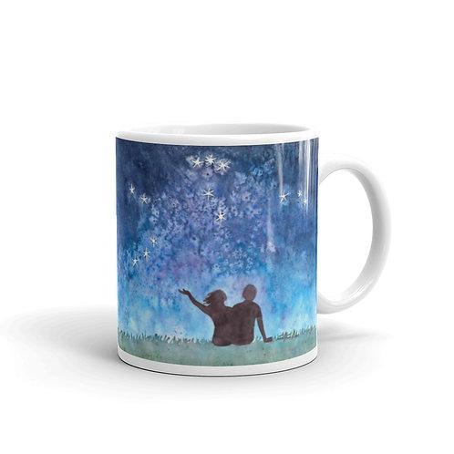 Starry You and Me Mug