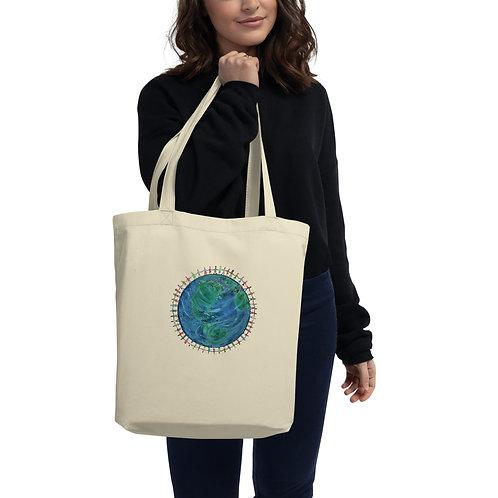 All One By Artist Nancy Ann Moore Eco Tote Bag