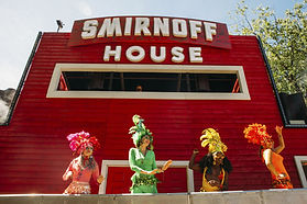 Smirnoff House Live Nation Provibers Host Dancers Games