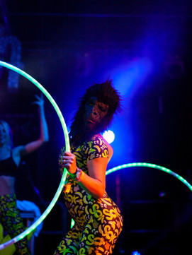 Fieldview Festival The Provibers Games Party Host Hula Hoop