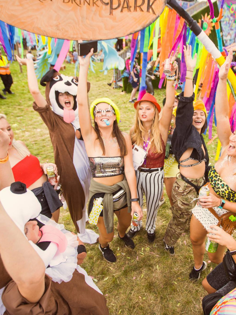 Elrow Town Festival Relentless The Provibers Games Party Host