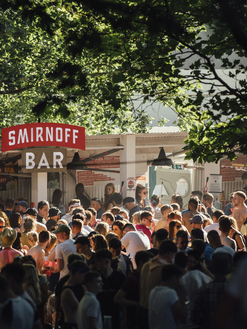 Smirnoff House Live Nation Festival The Provibers Games Party Host