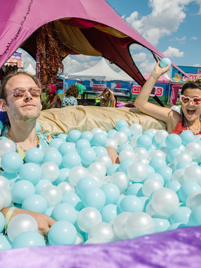 WE ARE Festival Vibes Village