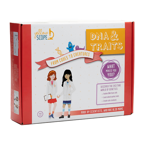 DNA & Traits: From Codes to Creatures Kit