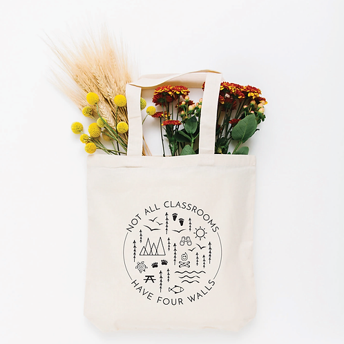 Not All Classrooms Tote Bag