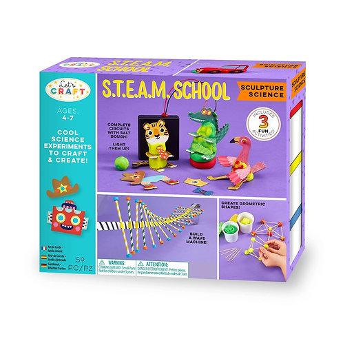 STEAM School Sculpture Science Kit