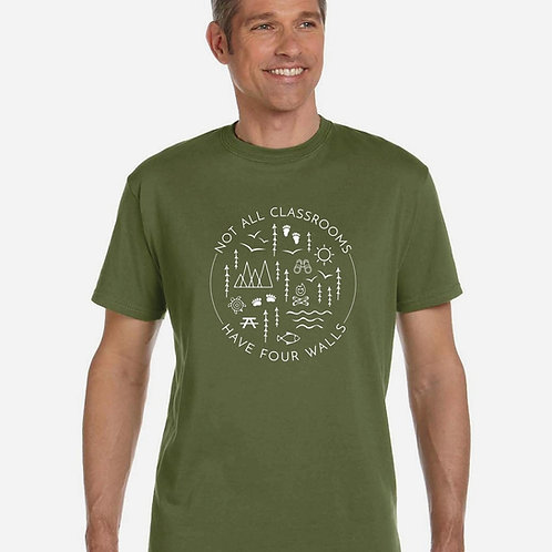 Not All Classrooms Adult T-shirt