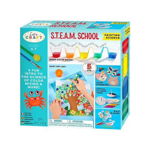 STEAM School Painting Science Kit