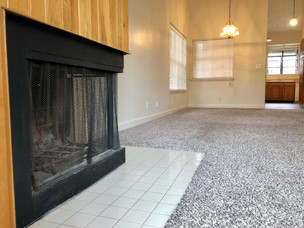 2 Bed - Living Room Fireplace Closeup.jp
