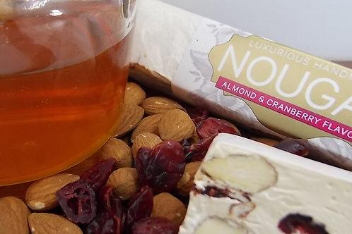 Almond & Cranberry Nougat Bar 65g
