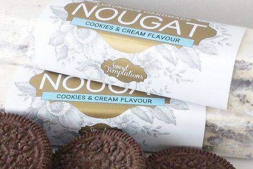 Cookies and Cream Nougat Bar 65g