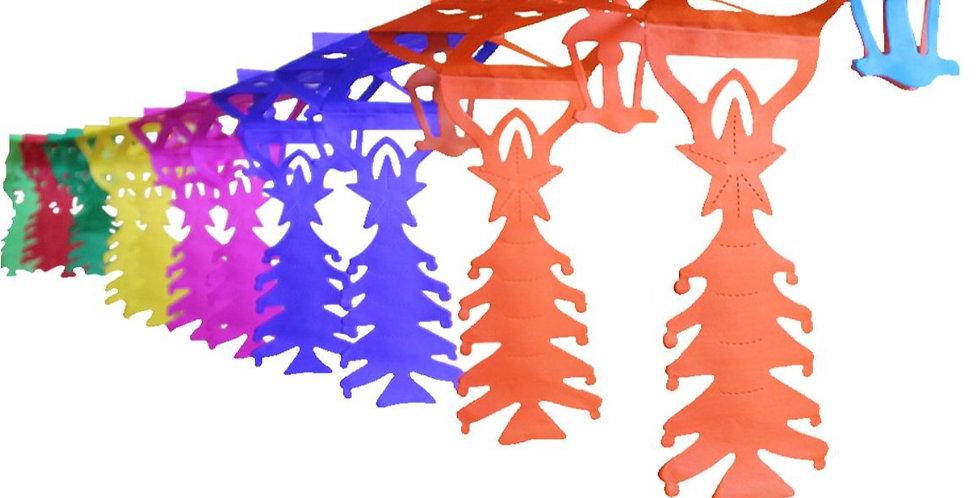 Festón de pinos