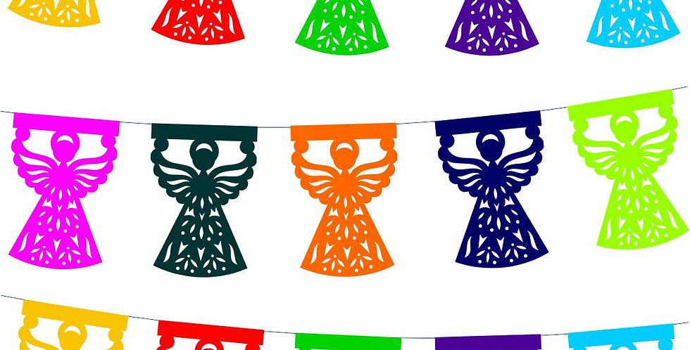 Enramada ángeles 1/16 papel china