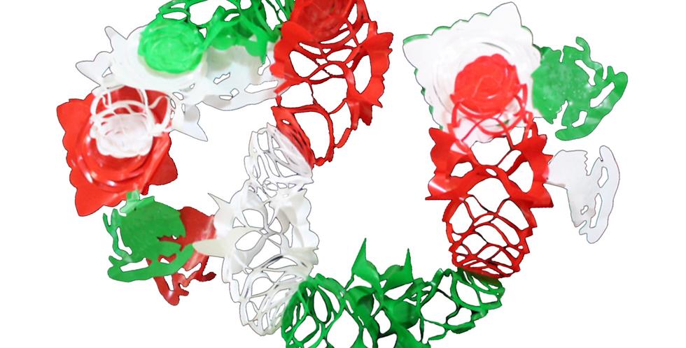 Guía sencilla tricolor plástico