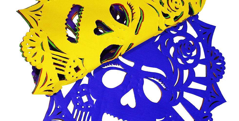 Millar blonda Frida Kahlo multicolor