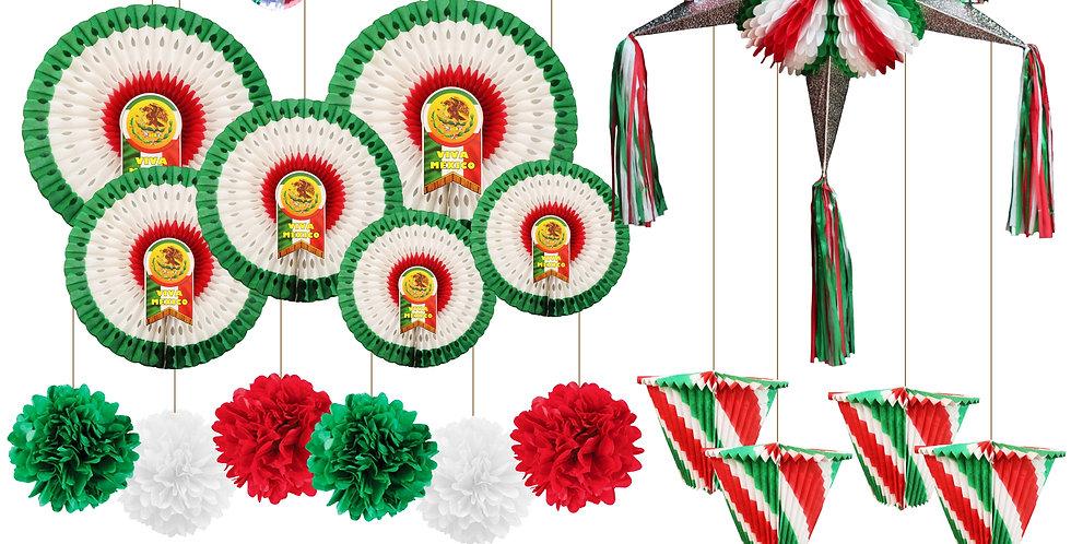 Paquete - enfiestes tricolor