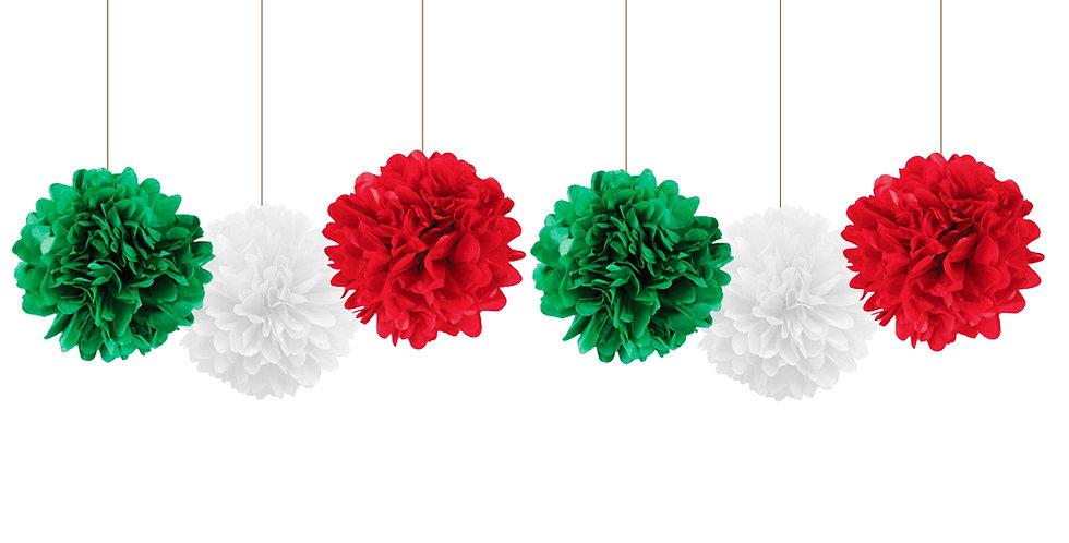 Pompones tricolor