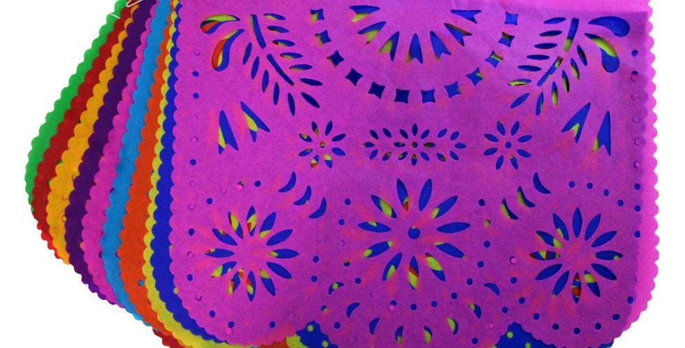 Enramada destello floral papel china