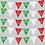 Thumbnail: Banderín tricolor c/heroes 8m