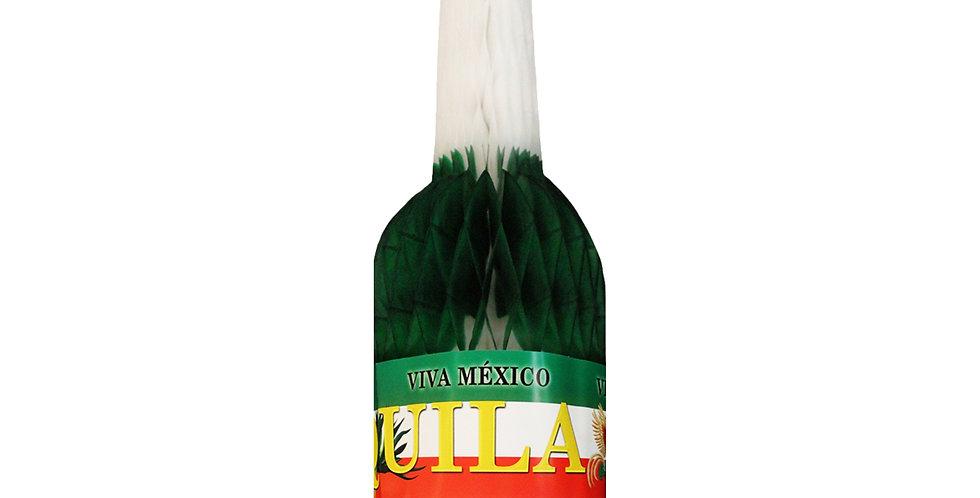 Botella tricolor