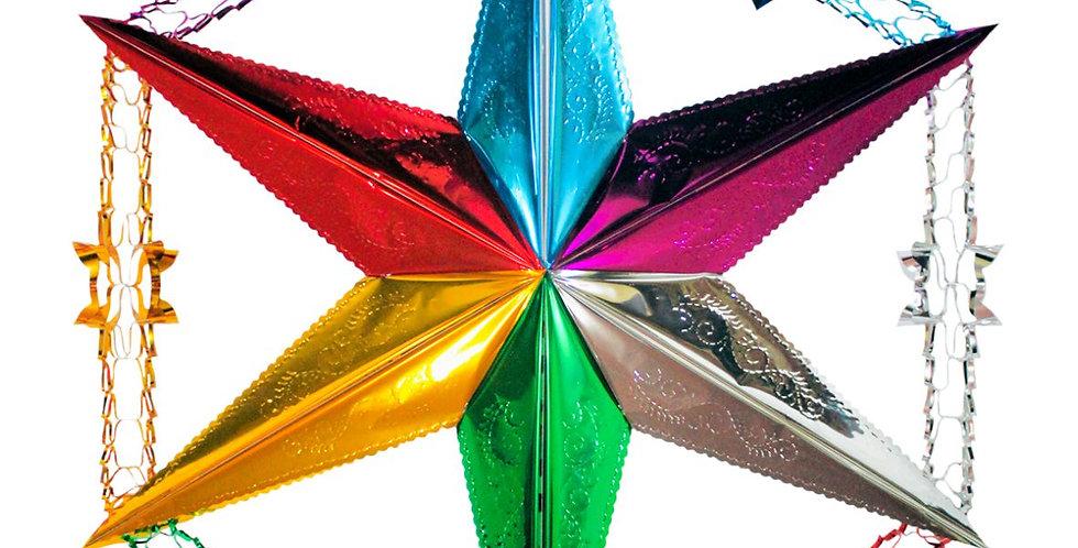 Estrella con guía #2 35cm