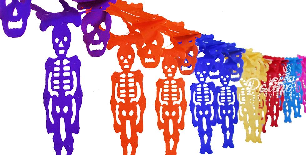 Festón de esqueletos