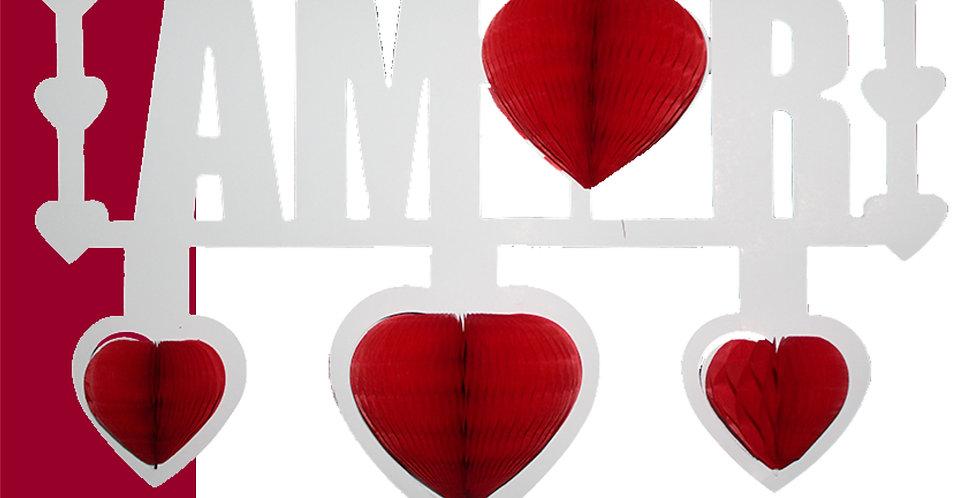 Letrero Amor