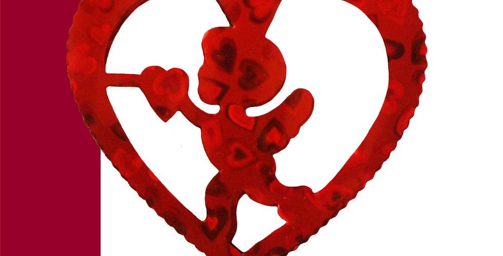 Guía metálica corazón cupido