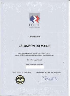 Chatterie LOOF - La Maison Du Maine