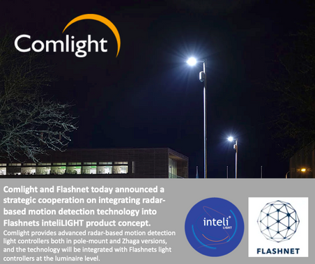 Comlight and Flashnet announce cooperation