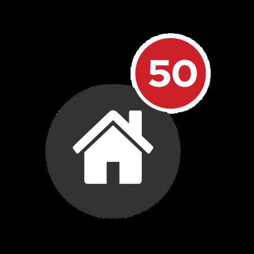 PACOTE 50 IMÓVEIS