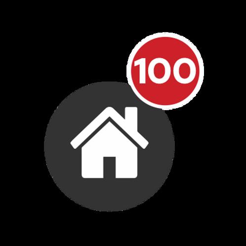 PACOTE 100 IMÓVEIS