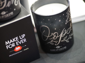 MAKE UP FOR EVER CANDLES EVENT