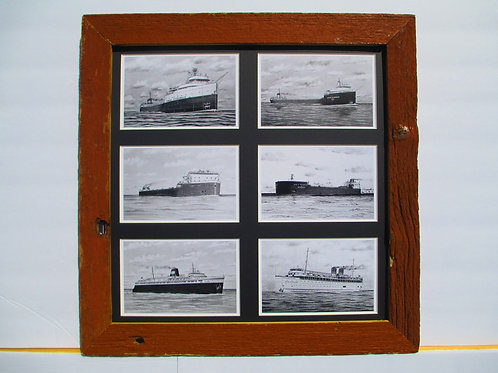 Famous Great Lakes Ships Collage