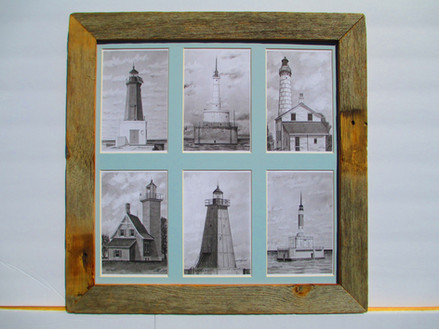 Collage Set Lighthouses