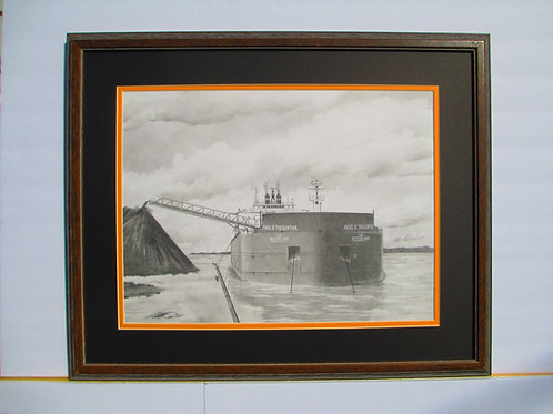 Paul R. Tregurtha Unloading