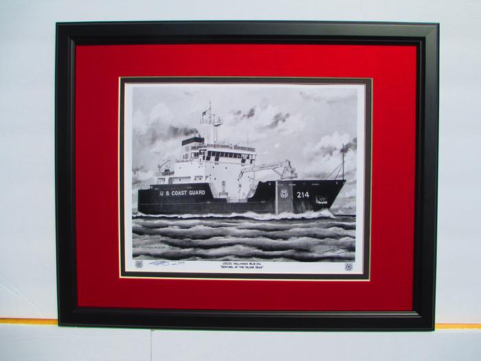 USCGC Hollyhock Print