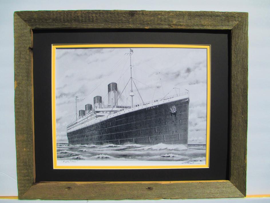 RMS Titanic 12x16 Print