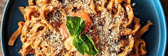 Sun Dried Tomato & Feta Pasta